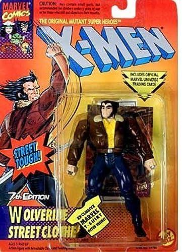 online barato X-Men X-Men X-Men Wolverine Street Clothes Action Figure by Toy Biz