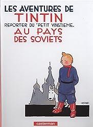 livre La BD les aventures de Tintin au pays des soviets