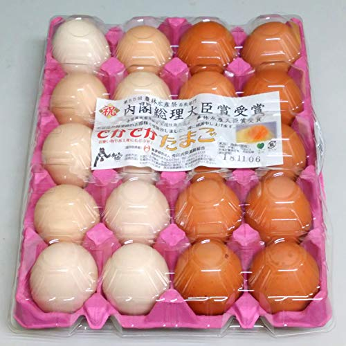 鶏卵LLサイズ20個パック たまご 2L