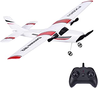 FX-801 RC Plane, 2.4GHz 2CH EPP Remote Control Airplane RTF Ready to Fly Toy Aircraft Model for Beginner, 310mm Wingspan, Built-in Gyroscope (FX-801)