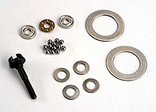 Traxxas Diff rebuild kit, contains: diff shaft belleville spring washers (4)/ diff rings (2)/ thrust washers (2)/ thrust bearing/ chrome diff balls (12)