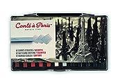 コンテ・ア・パリ カレコンテ スケッチ プラスチックボックス アソート 12色セット 50150