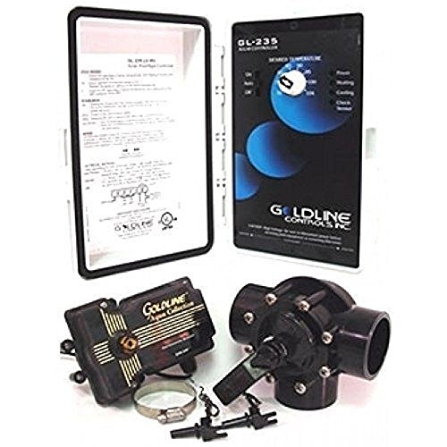 Hayward GLC-2P-A Solar Pool Heating Control System with 3-Way...