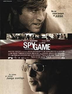 Spy Game Movie Poster (27 x 40 Inches - 69cm x 102cm) (2001) Spanish -(Robert Redford)(Brad Pitt)(Catherine McCormack)(Stephen (Dillon) Dillane)(Larry Bryggman)(Michael Paul Chan)