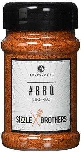 Ankerkraut #BBQ, BBQ-Rub und Grillmarinade, entwickelt von den den Sizzlebrothers, 220g im Streuer