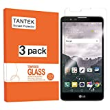 TANTEK [3-Pack] Screen Protector for LG G Stylo 2 Plus/LG G Stylus 2 Plus (5.7 Inch,2016 Edition),Tempered Glass Film,Ultra Clear,Anti Scratch,Bubble Free,Case Friendly