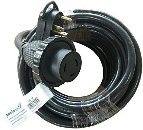 Parkworld 692194 Sacramento Mall RV Shore It is very popular Power Cord 30A TT-30 Adapter Extension