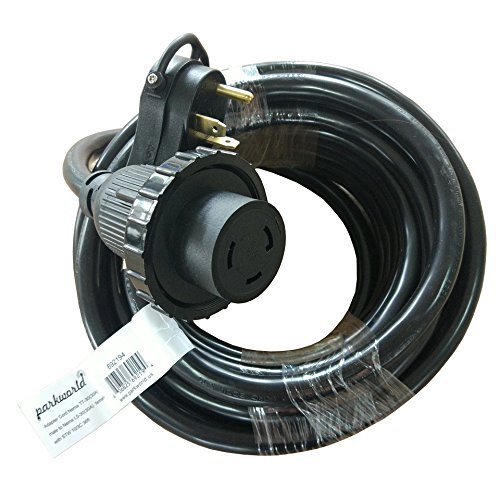 Parkworld 692194 RV Shore Power 30A Extension Cord