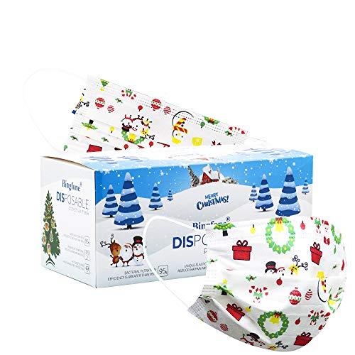 Christmas disposable masks