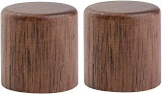 walnut guitar knobs
