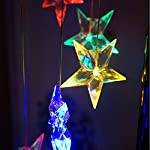 Color-Changing Wind Chime, Wishshopping Solar Power Wind Chimes Lights Hanging Lamp Night Light For Home, Party… 4