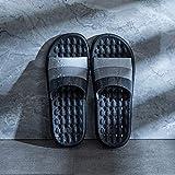 Chanclas Ducha Zapatillas con orificios de desagüe de secado rápido Masaje Baño Zapatillas suavemente único punta abierta Casa zapatillas for hombres y mujeres sandalias ( Color : C , Size : 43-44 )
