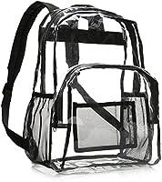 AmazonBasics School Backpack - Clear