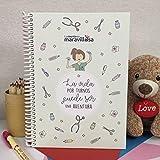 La Mente es Maravillosa - Cuaderno A5 (La vida por turnos puede ser una aventura) Cuaderno para una enfermera