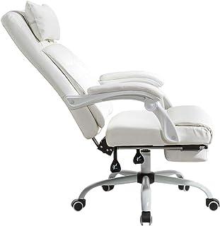 Sillas de escritorio sillón elevador doméstico silla de oficina blanca silla de estudio silla de computadora silla de oficina sala de estar sillón blanco (Color: blanco, tamaño: 70 cm * 70 cm * 1