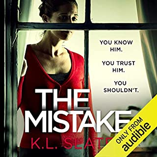The Mistake                   By:                                                                                                                                 K. L. Slater                               Narrated by:                                                                                                                                 Lucy Price-Lewis                      Length: 8 hrs and 26 mins     3,743 ratings     Overall 4.2