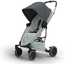Quinny Zapp Flex Plus Buggy, stylischer Kinderwagen mit viel Komfort und Flexibilität, leicht und extrem kompakt zusammenfaltbar, nutzbar ab der Geburt z.B. mit Lux Babywanne, graphite on grey