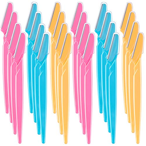 URATOT 36 piezas de afeitadora de cejas cortadora de afeitadoras de pelo facial para mujeres y hombres