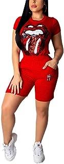 Womens Casual 2 Piece Outfit Long Sleeve Zipper Windbreaker Sweatshirt and High Waist Long Pants Set Sportswear