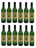 12x Imiglykos Weiß lieblich Achaia Clauss je 750ml 10,5% + 2 Probier Sachets Olivenöl aus Kreta a 10 ml - griechischer weißer Wein Weißwein Griechenland Wein Set