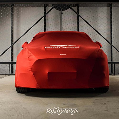 softgarage 3-lagig rot Indoor atmungsaktiv wasserabweisend car Cover