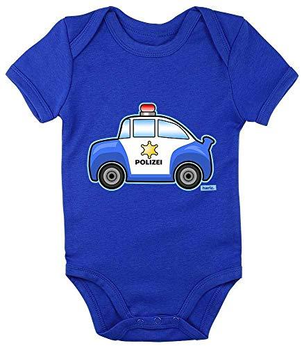 """Hariz - Body de manga corta para bebé, diseño de coche con texto en inglés """"Royal Königs azul"""" de 3 a 6 meses"""
