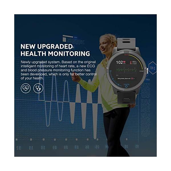 PRIXTON – Reloj Inteligente Smartwatch para Android e iOS con Electrocardiograma, Presión en Sangre, Pulsometro… 5