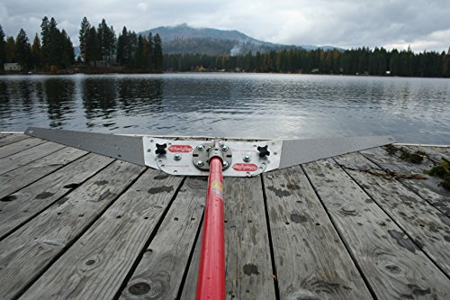 Affordable Weed Ray - 2 Extension Pole Option, 12ft - The BEST Lake Weed Removal Tool