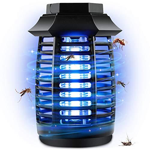 AngLink Elektrische Insektenvernichter, LED Insektenfalle mit 6W und 365 Nanometer UV-Licht Insektenabwehr für 16 m², für Kinderzimmer Schlafzimmer Wohnzimmer andere Innenumgebung
