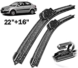 Negro Vosarea Reemplazo 12V 2 Pines Bomba lavaparabrisas para Hyundai Accent Azera Elantra Kia Rio Spectra Soul