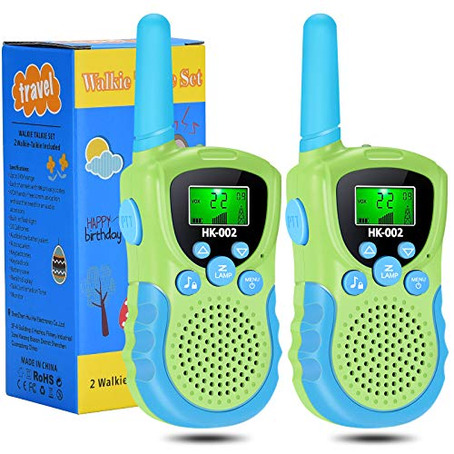 HmiL-U Kids' Walkie Talkies, Toys for 3-12 Year Old Boys...