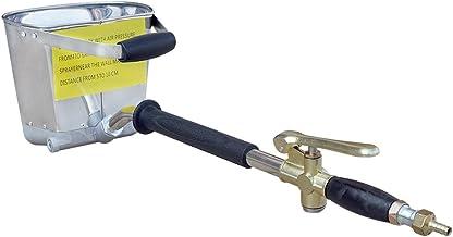 ECO-WORTHY 4 Jet tolva de estuco de pared pulverizador - pulverizador - pulverizador de yeso - Pistola de mortero de cemento hormigón estuco yeso pintura pared herramienta