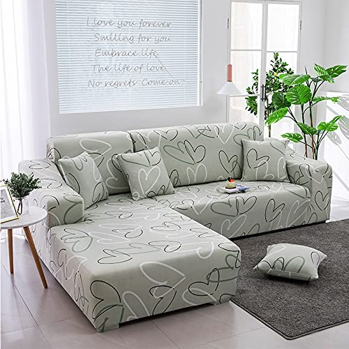 Elastic Sofa Slipcovers Modern Sofa Cover for Living Room Sectional Corner L-Shape Chair Protector Couch Cover 1/2/3/4 Seater 19