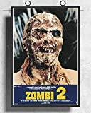 IFUNEW Poster Wandbilder Zombie Aka Zombi Film Horror Kult