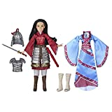 Disney Mulan Two Reflections Set, Fashion Doll with 2 Outfits and Accessories, Toy Inspired by Disney's Mulan Movie