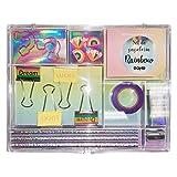 DOHE Set de papelería de 17 piezas Rainbow