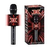 The X Factor Karaoke Microphone Speaker with Wireless Bluetooth, LED Lights, Echo