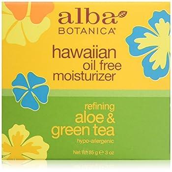 Alba Botanica Hawaiian Oil-Free Moisturizer Aloe & Green Tea 3 oz.