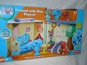 Blues Clues Room Pretend with Blue Playset Play House Set NEW FIGURES