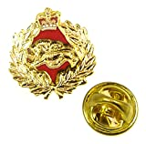 The Quartermaster Online korbr Kings propio Royal Border Regimiento insignia de solapa (Metal/esmalte)