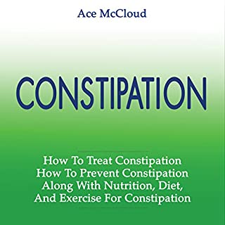 Constipation audiobook cover art