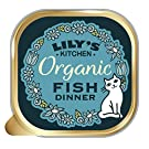 Lily's Kitchen Adult Organic Fish Dinner Complete Wet Cat Food, 19 x 85 g