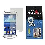 Fologar Protector de Pantalla Cristal Templado para Samsung Galaxy S3 MINI I8190 I8200