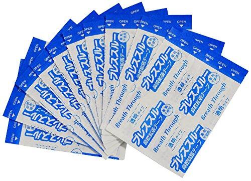 鼻づまりいびき解消ブレススルー透明20枚入ラージサイズKH-045