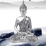 Figura de Buda única Tailandia Feng Shui Escultura Budismo Estatua Budda Felicidad Adornos para deco...