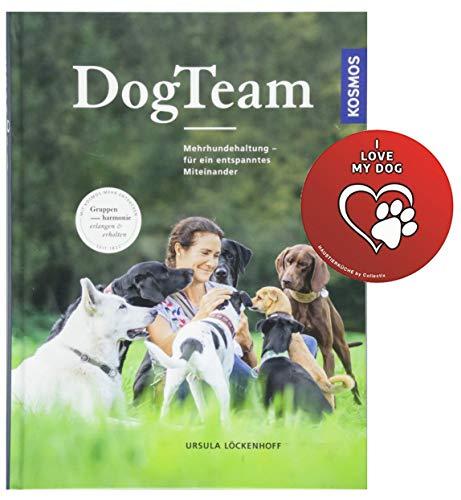 Kosmos DogTeam: Mehrhundehaltung – für EIN entspanntes Miteinander Gebundenes Buch + Hunde-Sticker by Collectix
