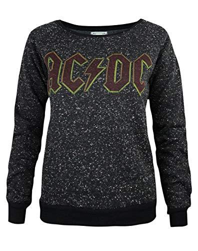 Amplified AC/DC Comics Logo Women's Sweater