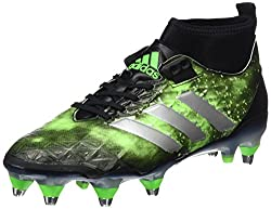 Green & Black Adidas Kakari Force Soft Ground Rugby Boot