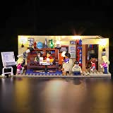 WYY Kit de iluminación LED Compatible con Lego 21302, Set de Iluminación en Big Bang Theory Bloques de construcción (no está Incluido Lego Set)