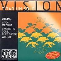 CUERDA VIOLIN - Thomastik (Vision Titanium/Vit04) (Alma Sintetica/Entorchado Plata) 4ェ Medium Violin4